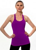 T for 2 Sports Top Purple Front