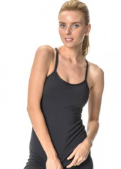 Y-Knot Sports Top black front